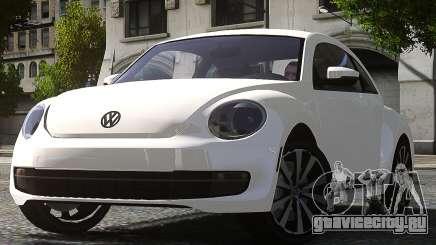 Volkswagen Beetle Turbo 2012 для GTA 4