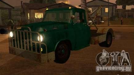 Dodge тягач ржавый для GTA San Andreas