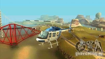 Bell 206 B Police texture1 для GTA San Andreas