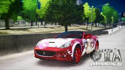Ferrari California DC Texture для GTA 4