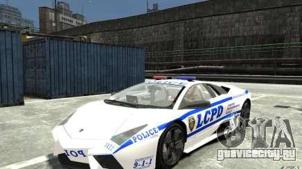 Lamborghini Reventon LCPD для GTA 4
