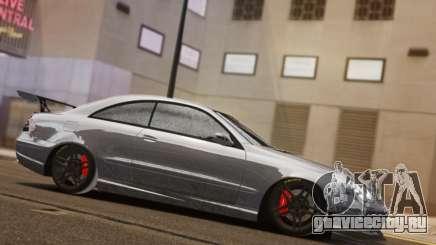 Mercedes-Benz CLK 63 AMG Black Series для GTA 4
