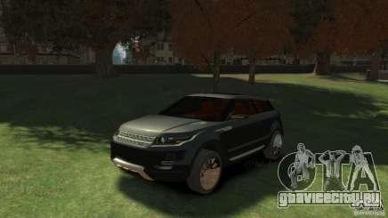 Land Rover Rang Rover LRX Concept для GTA 4