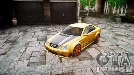 Mercedes Benz CLK63 AMG Black Series 2007 для GTA 4