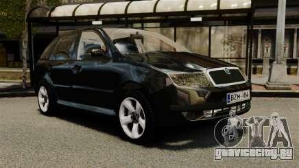 Skoda Fabia Combi Unmarked ELS для GTA 4