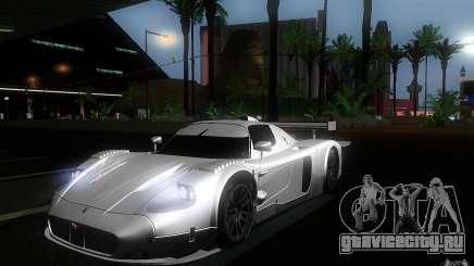 Maserati MC12 GT1 для GTA San Andreas