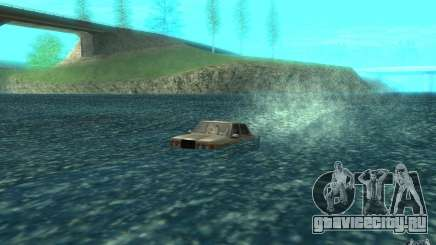 Admiral Boat для GTA San Andreas