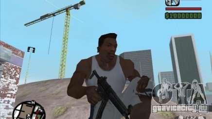 MP5 для GTA San Andreas