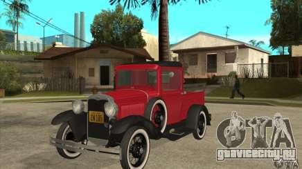 Ford Model A Pickup 1930 для GTA San Andreas