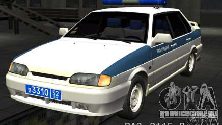 ВАЗ 2115 ППС Полиция для GTA San Andreas
