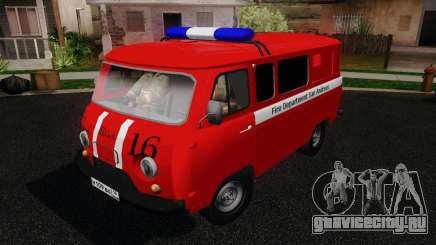 УАЗ-3909 Пожарная служба для GTA San Andreas