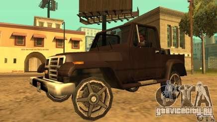 Mesa From Beta Version для GTA San Andreas