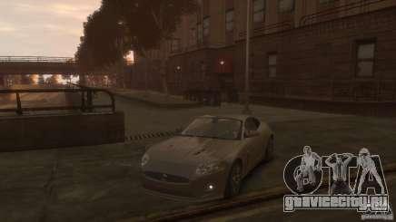 Jaguar XK-R серый для GTA 4