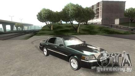 Lincoln Town car sedan для GTA San Andreas