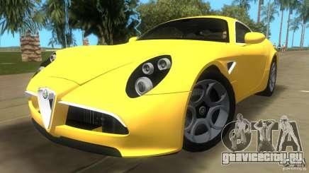 Alfa Romeo 8C Competizione для GTA Vice City