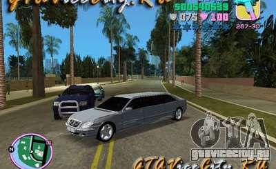 Mercedes-Benz S600L для GTA Vice City