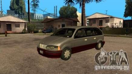 HD Blista для GTA San Andreas