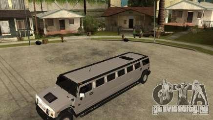 AMG H2 HUMMER 4x4 Limusine для GTA San Andreas