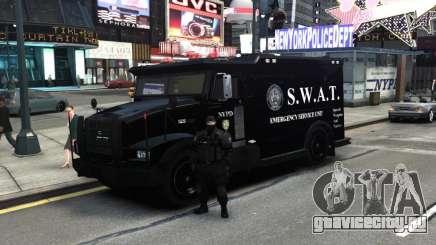 SWAT - NYPD Enforcer V1.1 для GTA 4