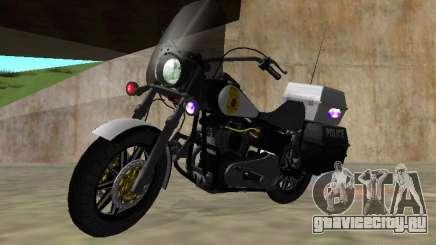 Harley Davidson Dyna Defender для GTA San Andreas