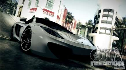 McLaren MP4-12C 2012 для GTA San Andreas