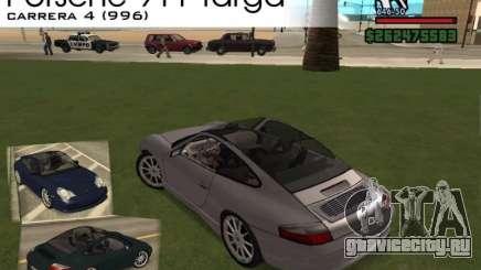 Porsche 911 TARGA для GTA San Andreas