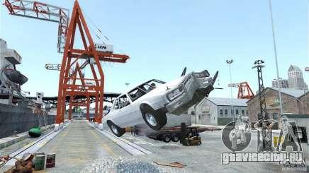 Jupiter Eagleray MK5 v.2 для GTA 4