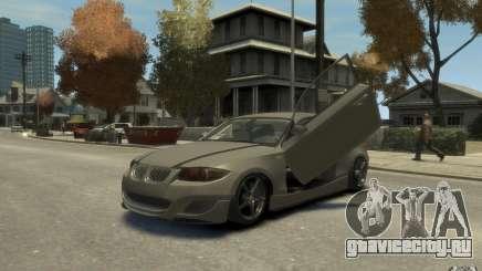BMW 135i серебристый для GTA 4