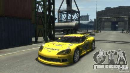 Chevrolet Corvette C6-R для GTA 4