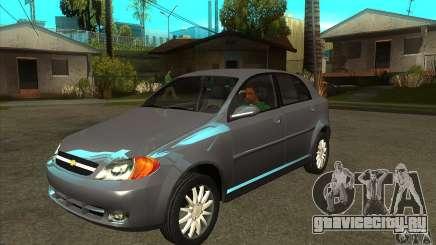 Chevrolet Optra 2011 Hatchback для GTA San Andreas