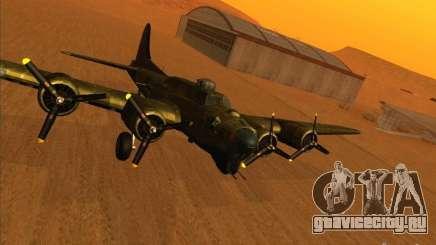 B-17G Flying Fortress (Nightfighter версия) для GTA San Andreas