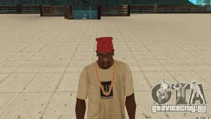 Бандана maryshuana red для GTA San Andreas