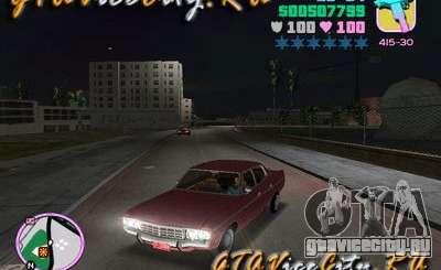 Ford AMC Matador бордовый для GTA Vice City