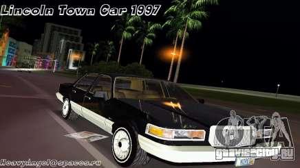 Lincoln Town Car 1997 для GTA Vice City