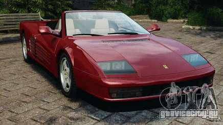 Ferrari Testarossa Spider custom v1.0 для GTA 4