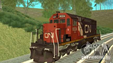 Canadian National SD40U для GTA San Andreas