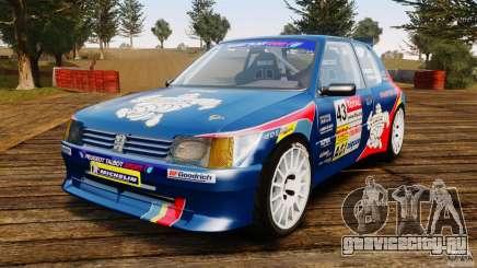 Peugeot 205 Maxi для GTA 4