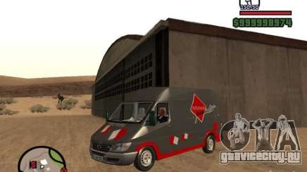 Mercedes Benz Sprinter для GTA San Andreas