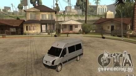 Volkswagen Crafter school bus для GTA San Andreas