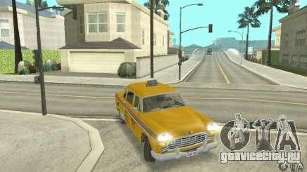 Checker Marathon 1977 Taxi для GTA San Andreas