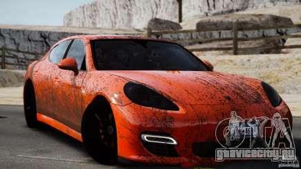 Porsche Panamera Turbo 2010 Black Edition для GTA 4