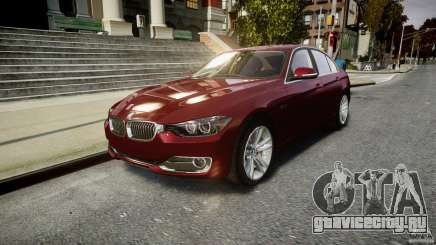 BMW 335i 2013 v1.0 для GTA 4