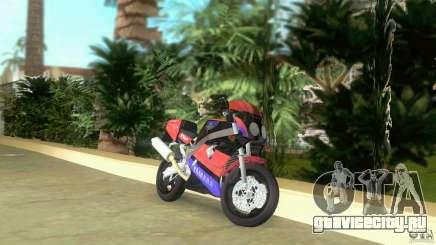 Yamaha FZR 750 black для GTA Vice City