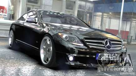 Mercedes-Benz CL65 SV12S Brabus 2012 для GTA 4
