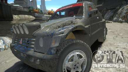 Mitsubishi Pajero Proto Dakar EK86 для GTA 4