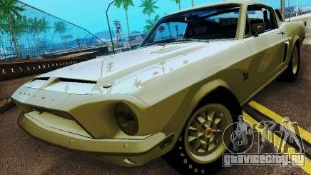 Shelby GT 500 KR для GTA San Andreas