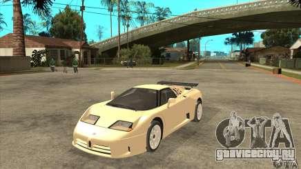 Bugatti EB110 SS 1992 для GTA San Andreas
