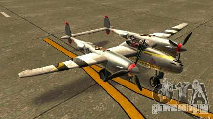 P38 Lightning для GTA San Andreas