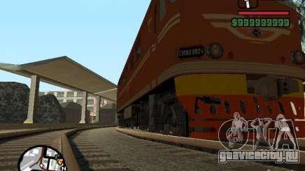Тепловоз ТЭП-60 для GTA San Andreas
