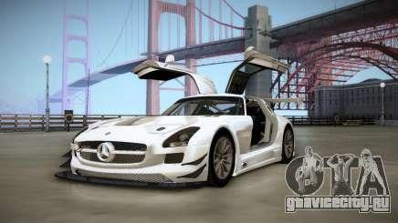 Mercedes-Benz SLS AMG GT3 для GTA San Andreas